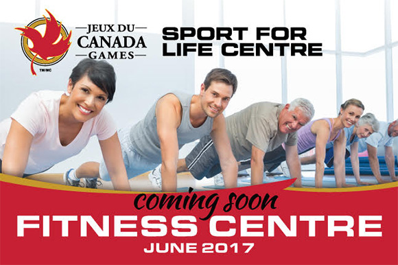 Sport for Life Centre: FITNESS CENTRE coming June 2017!