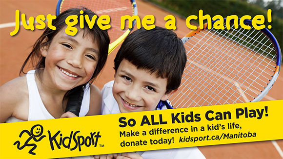 Give me a chance! KidSport so ALL Kids Can Play! Make a difference in a kid's life, donate today! kidsport.ca/Manitoba