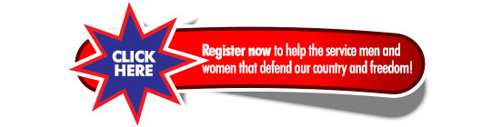 Register now and help the service men and women who defend our country and freedom