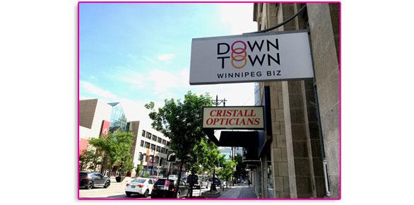 Downtown Winnipeg BIZ new signage